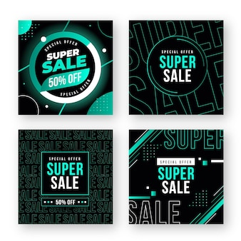 Instagram post super sale collection