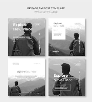 Instagram投稿テンプレート