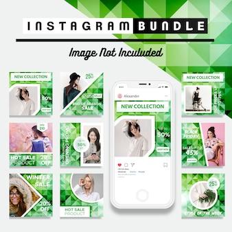 クリエイティブディスカウントinstagram post template