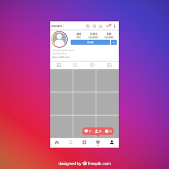 Instagram Mockup Vectors, Photos and PSD files | Free Download