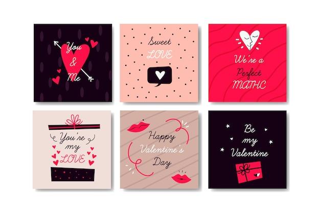 バレンタインデーセールinstagram posts