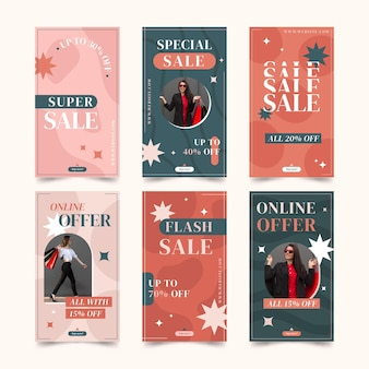 Instagram sale stories collection