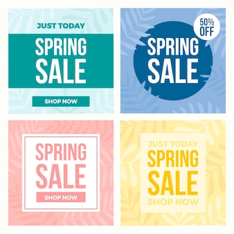 Instagram spring sale投稿パック