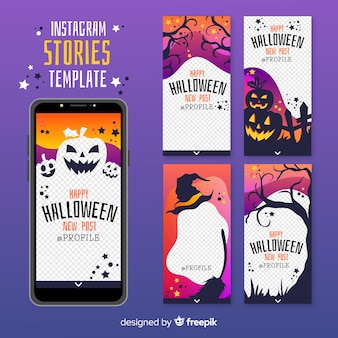 ハロウィンinstagram stories collection