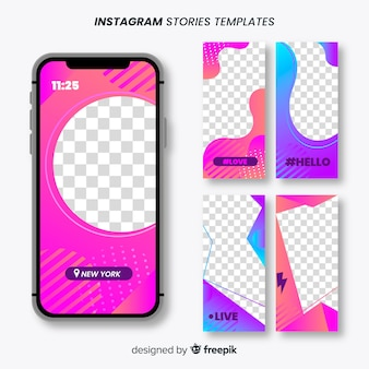Instagram stories frames templates