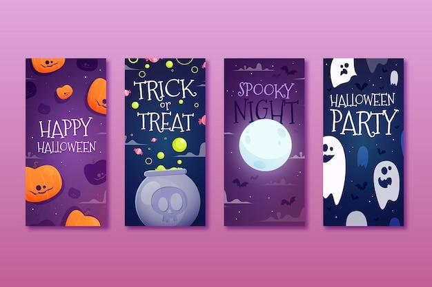 Истории из инстаграм на хэллоуин