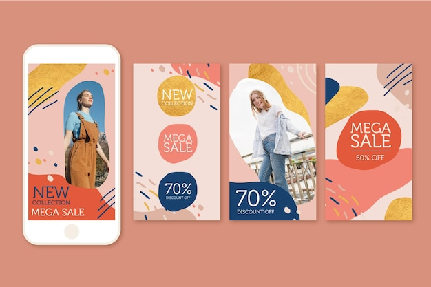 Instagram stories for summer organic sales