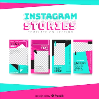 Instagram stories template