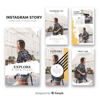 Instagram Template Vectors, Photos and PSD files | Free Download