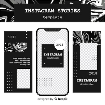 Instagram 이야기 템플릿