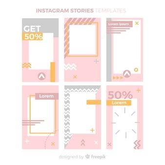 Instagram stories templates