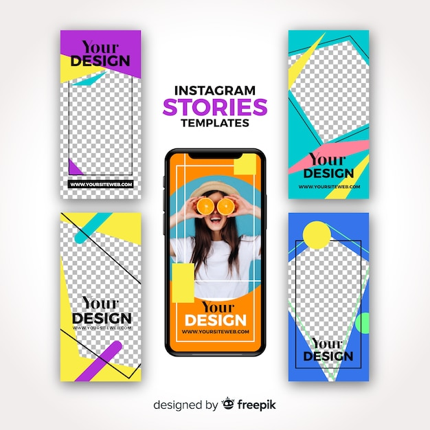 Free Instagram Stories Templates SVG DXF EPS PNG - SVG File