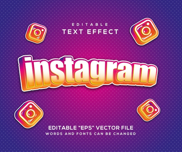 Instagramのテキスト効果スタイル