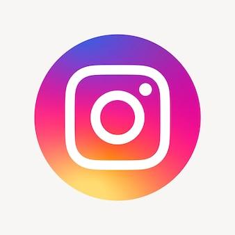 Значок социальных сетей instagram вектор. 7 июня 2021 года - бангкок, таиланд