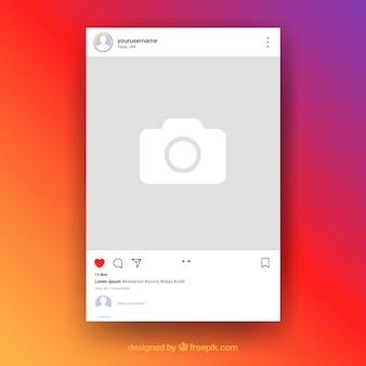 透明な背景を持つinstagramの投稿