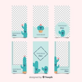 Творческая коллекция шаблонов шаблонов instagram