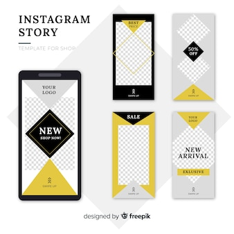 Instagramストーリーテンプレート