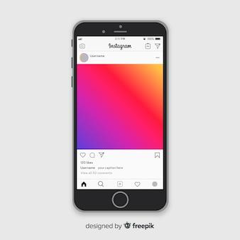 Instagramフォトフレームテンプレート