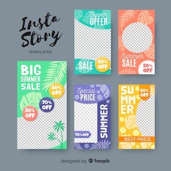 Шаблон рассказов instagram летняя распродажа