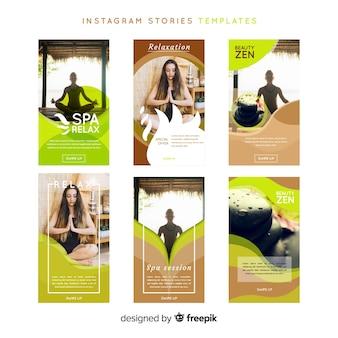 スパinstagramストーリーテンプレート
