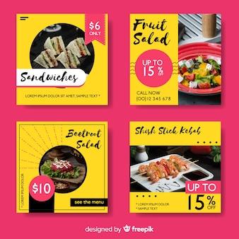 写真付き料理instagramポストコレクション