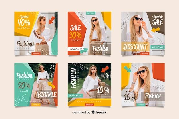 Аннотация продажа instagram пост коллекции с изображением