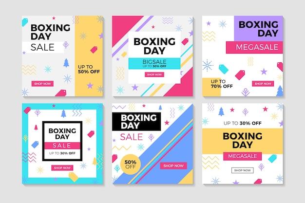 ボクシングデーセールinstagramポストコレクション
