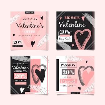 Instagramポストバレンタインデーコレクション