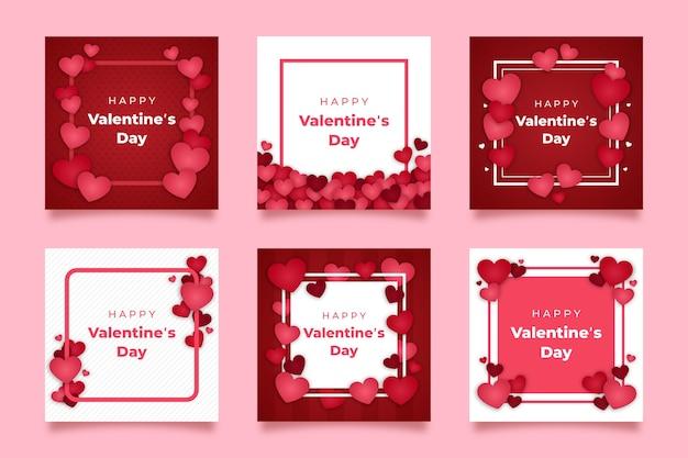バレンタインデーinstagram投稿コレクション