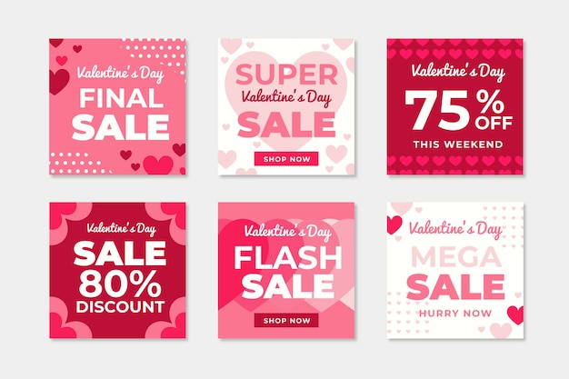 バレンタインデーセールinstagram投稿コレクション