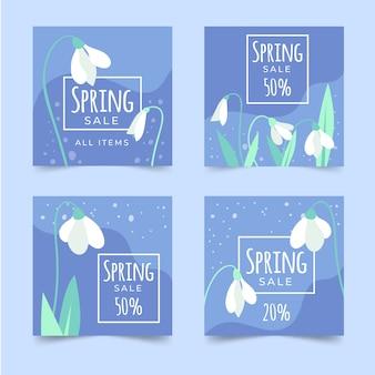 春のセールinstagramポストコレクション