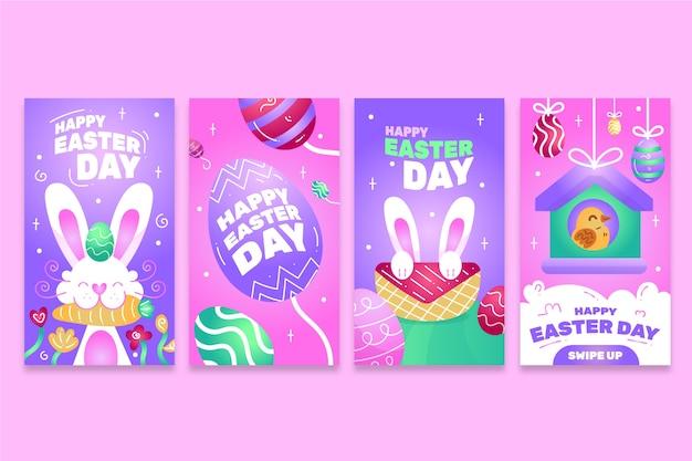 Пасхальный день instagram рассказы дизайн коллекции