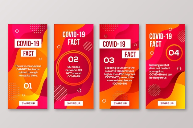Список мифов о коронавирусе для instagram