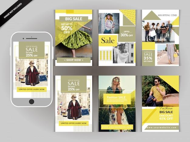 Instagramのためのソーシャルメディアショッピングパック