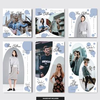 Социальные медиа instagram моды сообщение