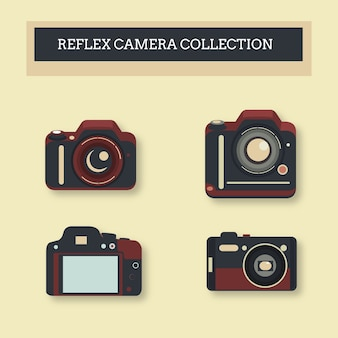 Instant cameras collection