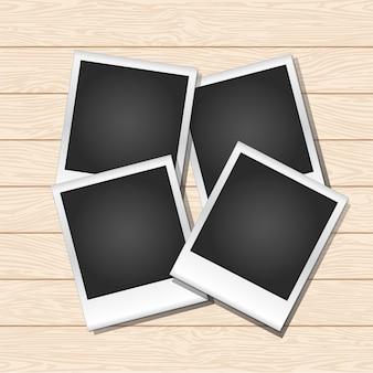Instant photo frames
