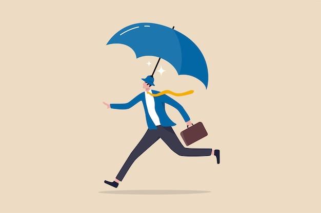 Страхование и защита, безопасность и защита или защита бизнеса