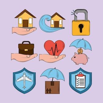 보험 보호 세트