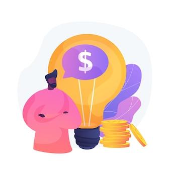 知的財産。創造的なアイデアの収益化、著者の権利保護、発明特許登録。収益性の高いスタートアップ、ライセンス料の支払い。