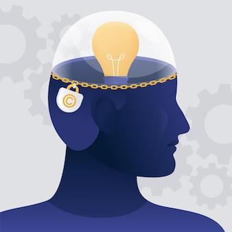 Illustrazione della proprietà intellettuale