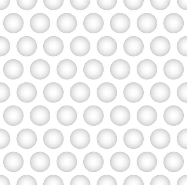 Interesting concave ball in white color background