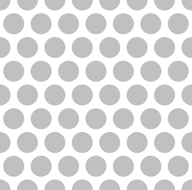 Interesting silver color dots on white background