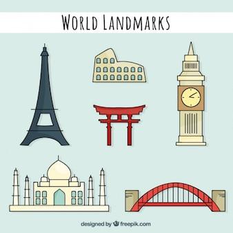 Interesting world landmarks