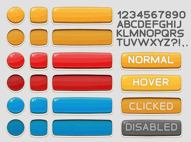 게임 또는 앱용 인터페이스 버튼 설정