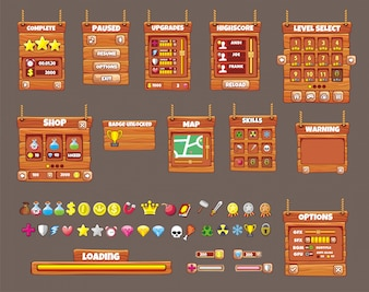 Interface game design