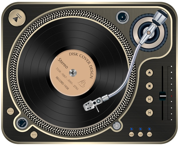 Interface of turntable
