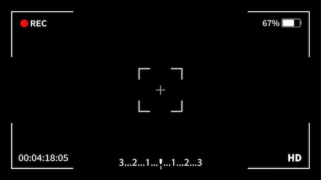 Interface viewfinder digital camera.