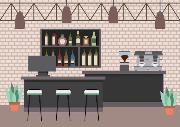인테리어 커피 숍