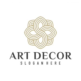 Interior home decoration logo